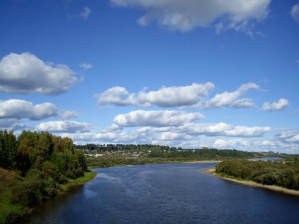 Река Ветлуга протекает в Заволжской части Нижегородской области